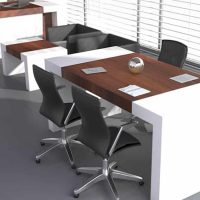 میز اداری کنفرانسی الوند مدل سیروان تصویر 1